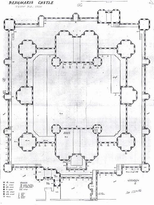 Beaumaris for Final fortress blueprints