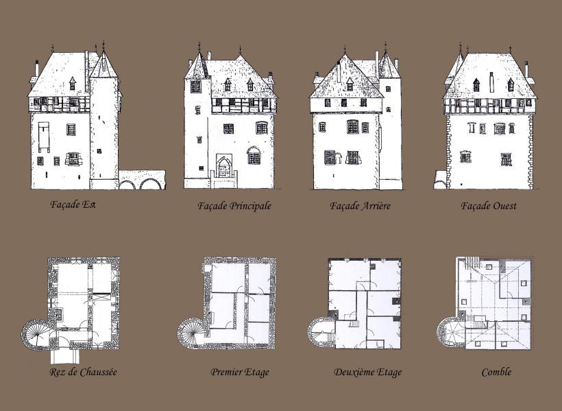 Recreating crupet castle in minecraft ecphorize for 11th century castles floor plan