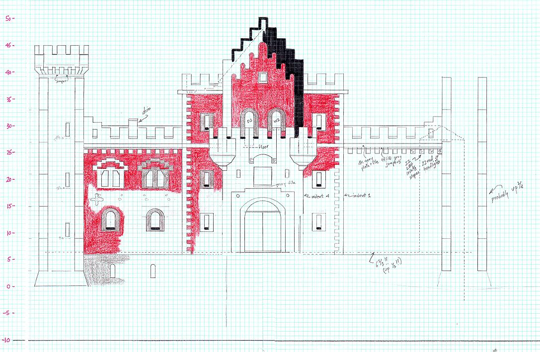 Neuschwanstein Castle  308l X 128w X 155h  -survival -no Mods - Screenshots